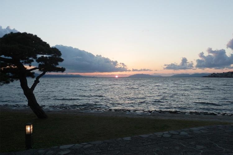 matsue-sunset