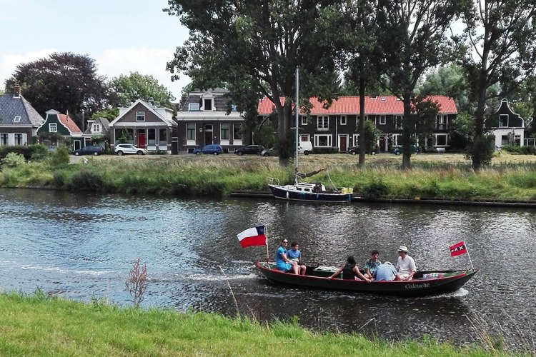 boating-through-noord-park