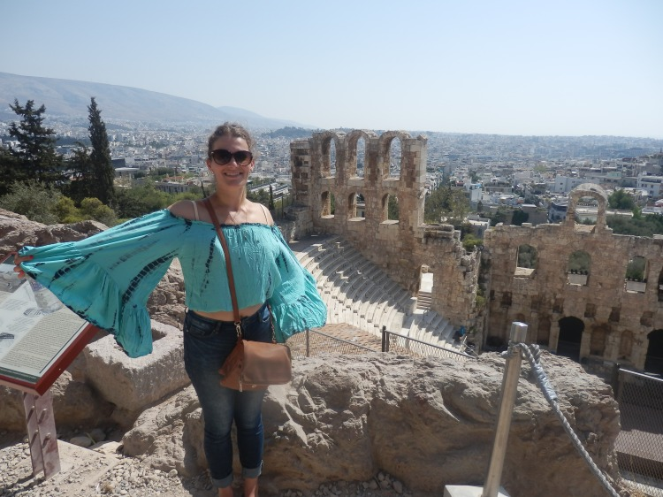 Realising my Dream in Athens, Greece