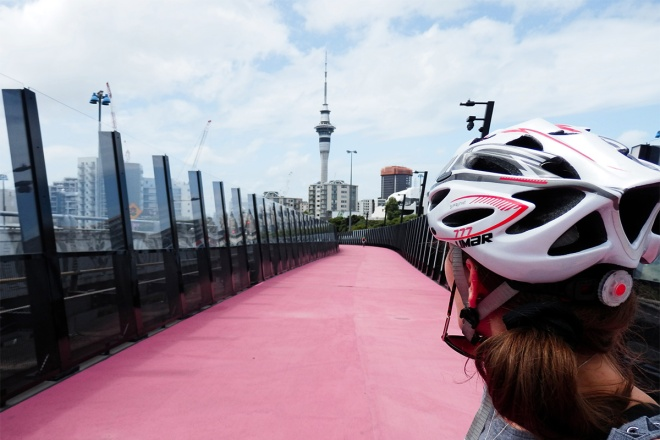 lightpath cycle path auckland