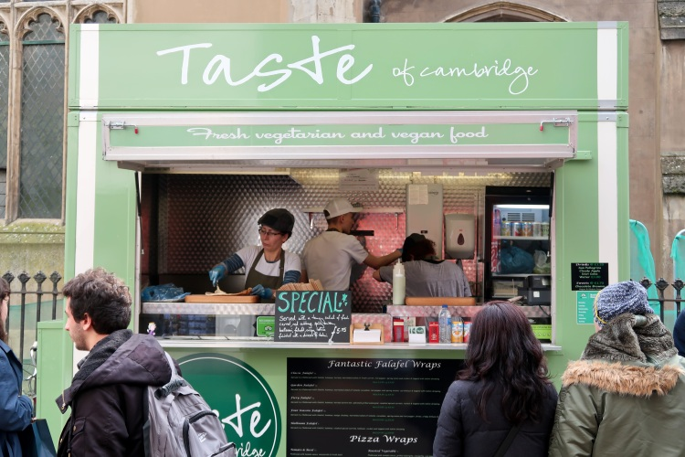 Taste of Cambrige Food Truck