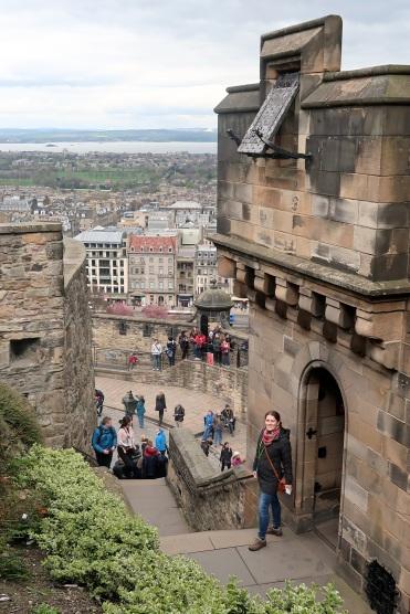 Edinburgh Castle Stairs 2