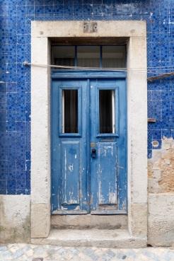 Lisbon Alfama Door 1