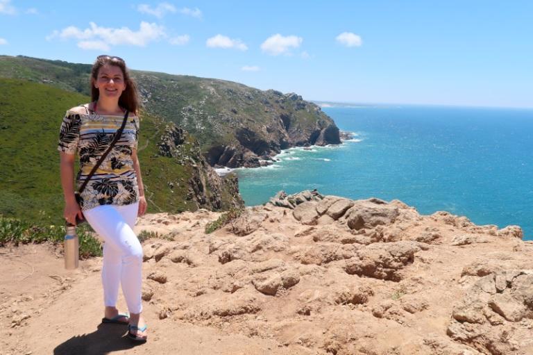 Me at Cabo de Roca