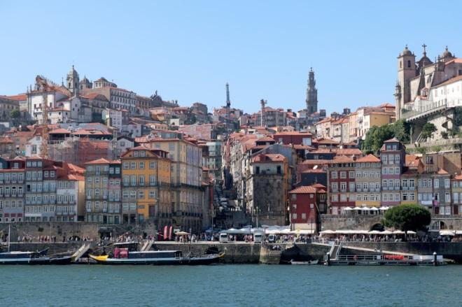 Porto city front