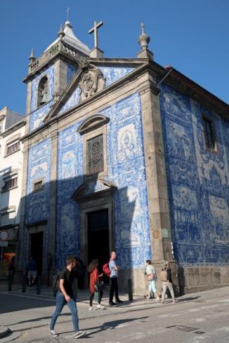 Porto tiled church