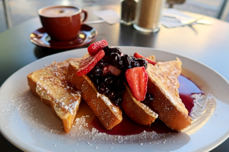 Badde Manors Brioche French Toast