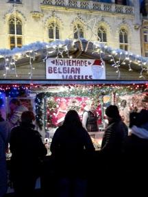 Belgian Waffles at the Market Square, Brugge