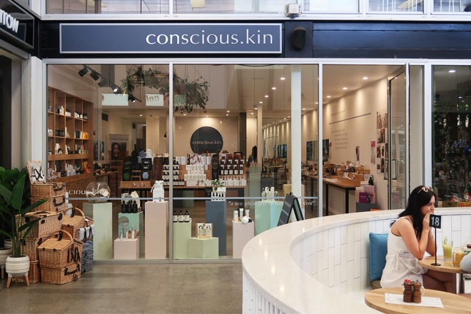 consious.kin store on James St