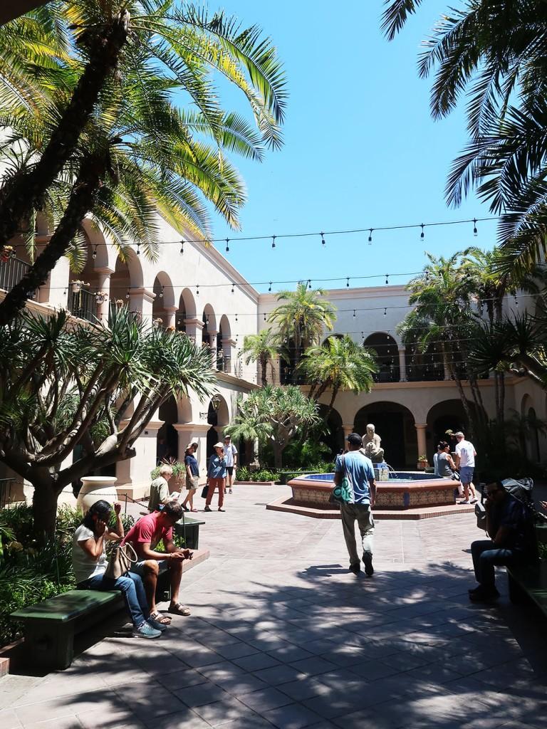 Balboa Park courtyard